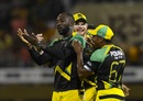 Kesrick Williams adds another name in the book, Jamaica Tallawahs v Amazon Guyana Warriors, CPL 2017, Providence, August 17, 2017