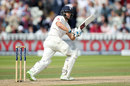 Dawid Malan resumed looking for his first significant score in Tests, England v West Indies, 1st Investec Test, Edgbaston, 2nd day, August 18, 2017