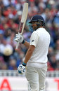Dawid Malan reached fifty for the first time in Tests, England v West Indies, 1st Investec Test, Edgbaston, 2nd day, August 18, 2017