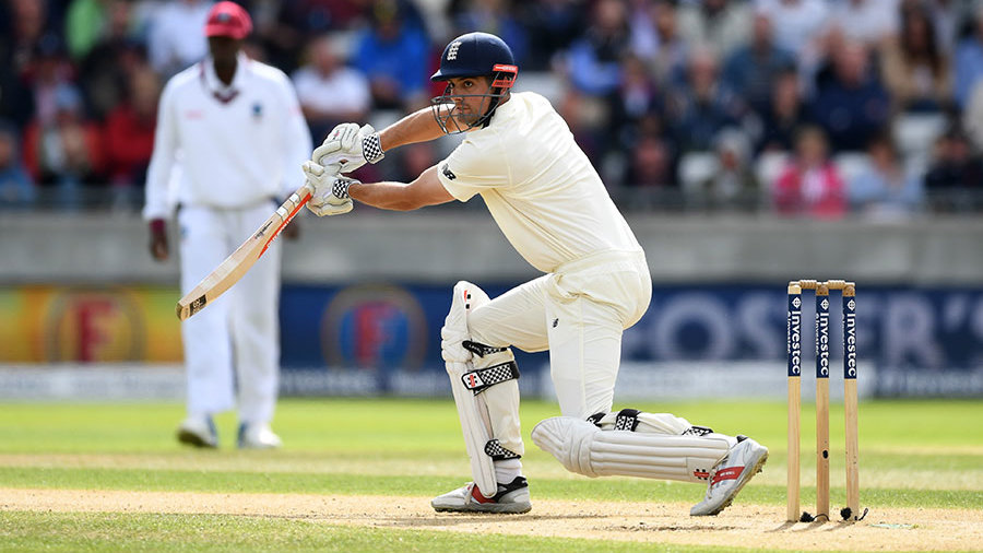 Alastair Cook kept churning out the runs