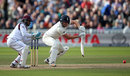 Jonny Bairstow guides the ball behind square, England v West Indies, 1st Investec Test, Edgbaston, 2nd day, August 18, 2017