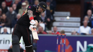 Cameron Delport shows aggressive frame of mind