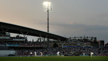 In the spotlight: The first day of day-night Test cricket had over 47,000 fans in attendance