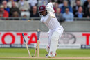 Shai Hope got an inside edge on to his stumps, England v West Indies, 1st Investec Test, Edgbaston, 3rd day, August 19, 2017