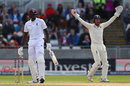 Jonny Bairstow was convinced Jason Holder had nicked his drive and DRS proved him right, England v West Indies, 1st Investec Test, Edgbaston, 3rd day, August 19, 2017