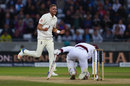 Stuart Broad pinned Roston Chase lbw, England v West Indies, 1st Investec Test, Edgbaston, 3rd day, August 19, 2017