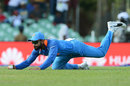Virat Kohli dives at extra cover, Sri Lanka v India, 1st ODI, Dambulla, August 20, 2017