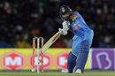 Virat Kohli lays into a drive, Sri Lanka v India, 1st ODI, Dambulla, August 20, 2017