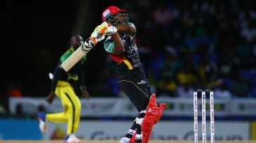 Evin Lewis smashed six sixes en route to a fifty