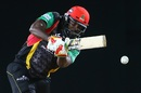 Chris Gayle notched up a half-century in his 50th CPL match, St Kitts & Nevis Patriots v Jamaica Tallawahs, CPL 2017, Basseterre, August 21, 2017