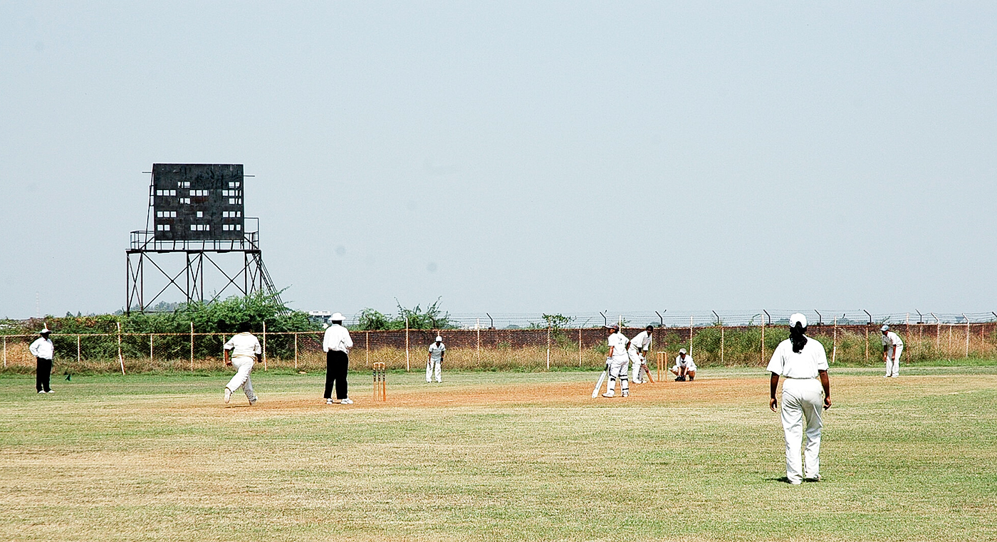 A Women's Cricket Association of India match goes on in Kanpur