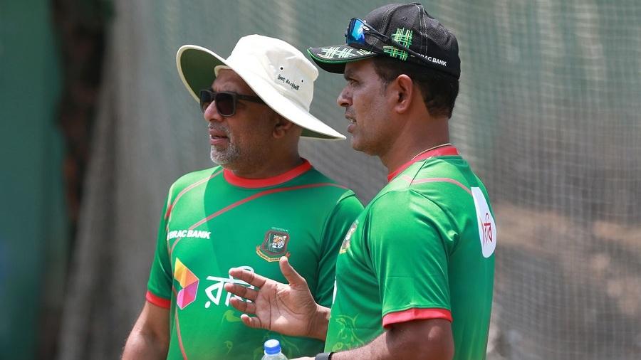 Chandika Hathurusingha has a chat with Sunil Joshi