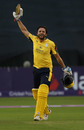Shahid Afridi smashed his maiden T20 hundred, Derbyshire v Hampshire, 1st quarter-final, NatWest T20 Blast, Derby, August 22, 2017