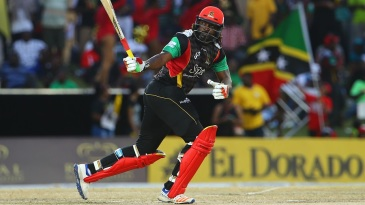Chris Gayle reached his fifty in 34 balls