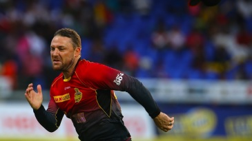 Brendon McCullum races after a ball