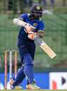 Niroshan Dickwella plays his trademark pick-up shot, Sri Lanka v India, 2nd ODI, Pallekele, August 24, 2017
