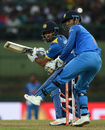 Milinda Siriwardana plays a late cut, Sri Lanka v India, 2nd ODI, Pallekele, August 24, 2017