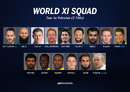 The World XI squad that will tour Pakistan next month
