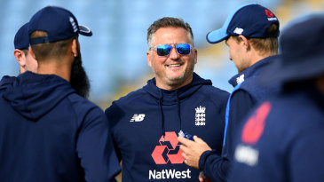 Darren Gough was working with the England squad