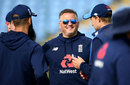 Darren Gough was working with the England squad, Headingley, August 24, 2017