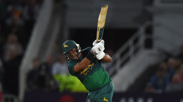 Samit Patel put Nottinghamshire's chase back on track