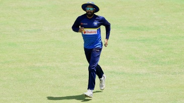 Meet Sri Lanka's new captain: Chamara Kapugedara takes part in a training session