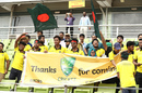Mirpur welcomes Australia
