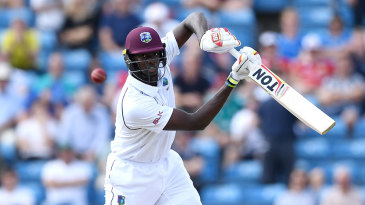 Captain Jason Holder played some terrific strokes