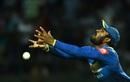 Chamara Kapugedera put down a difficult catch running back, Sri Lanka v India, 3rd ODI, Pallekele, August 27, 2017