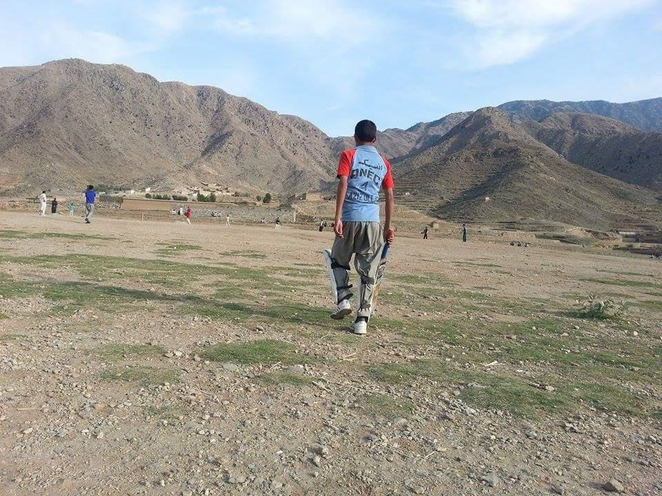 A game of cricket in Marawara