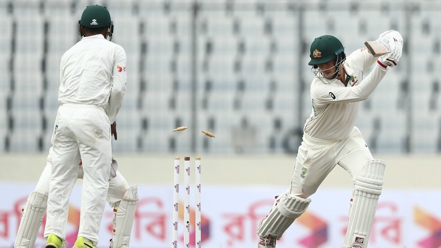 Shakib record five-fer steers Bangladesh to authority