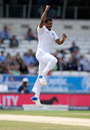 Shannon Gabriel worked hard for the wicket of Joe Root, England v West Indies, 2nd Investec Test, Headingley, 4th day, August 28, 2017