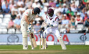 Dawid Malan was bowled by Roston Chase, England v West Indies, 2nd Investec Test, Headingley, 4th day, August 28, 2017