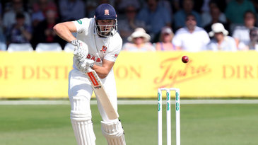 Nick Browne played with commendable grit for Essex