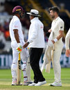 James Anderson and Kieran Powell had a few words, England v West Indies, 2nd Investec Test, Headingley, 5th day, August 29, 2017