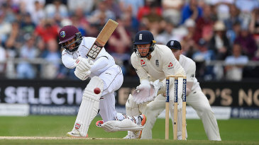 Shai Hope produced his second impressive innings of the Test