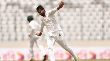 Shakib Al Hasan wheels away in celebration