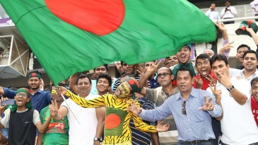 Bangladesh's fans erupted after their side's win