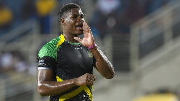 Oshane Thomas took three wickets for Jamaica Tallawahs