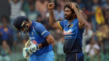 Virat Kohli was Lasith Malinga's 300th ODI victim