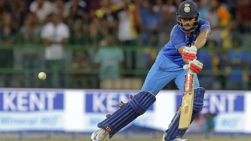 Manish Pandey marked his return to the side with a fifty