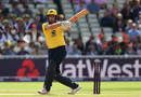 Dominic Sibley pulls off the front foot, Birmingham v Glamorgan, NatWest T20 Blast, 1st semi-final, Birmingham, September 2, 2017