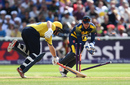 Aaron Thomason is run out by Chris Cooke, Birmingham v Glamorgan, NatWest T20 Blast, 1st semi-final, Birmingham, September 2, 2017
