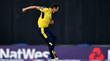 Chris Wood took four wickets
