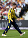 Mason Crane struck in his first over, Hampshire v Nottinghamshire, NatWest T20 Blast, 2nd semi-final, Edgbaston, September 2, 2017