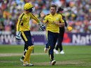 Liam Dawson claimed a couple of wickets, Hampshire v Nottinghamshire, NatWest T20 Blast, 2nd semi-final, Edgbaston, September 2, 2017
