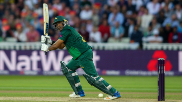 Samit Patel summoned a measured half-century with Notts under pressure