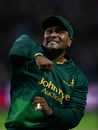 Samit Patel celebrates his second run out of Finals Day, Birmingham v Nottinghamshire, NatWest Blast final, Edgbaston, September 2, 2017