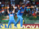 Bhuvneshwar Kumar appeals for lbw, Sri Lanka v India, 5th ODI, Colombo, September 3, 2017