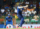 Lahiru Thirimanne gets on top of the bounce to pull, Sri Lanka v India, 5th ODI, Colombo, September 3, 2017